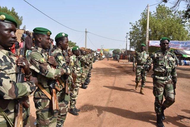 Soldats de Mali