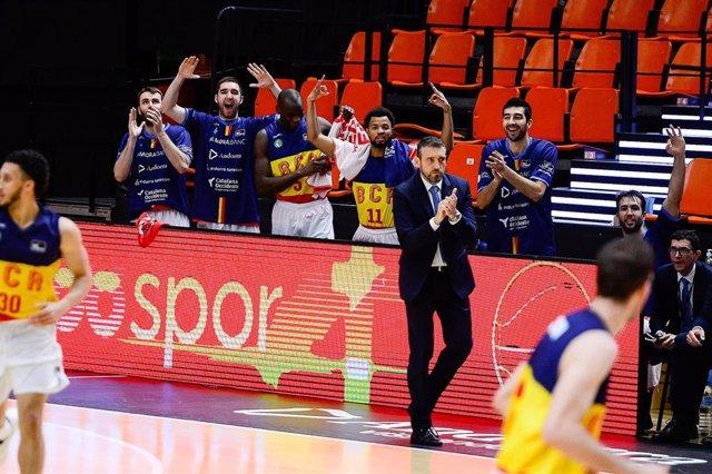 El entrenador de MoraBanc Andorra, Ibon Navarro