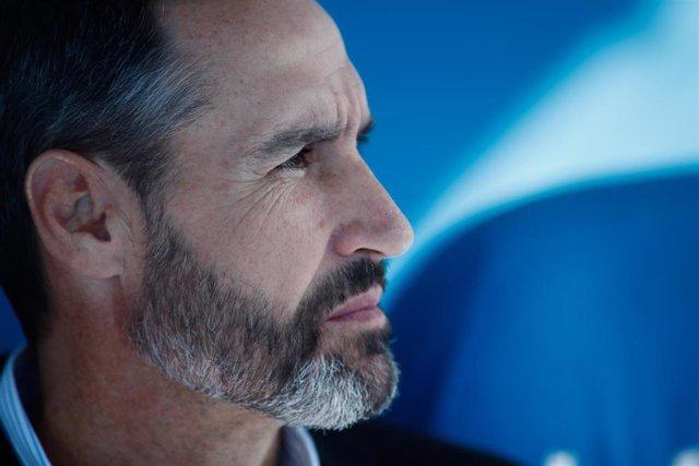 El entrenador del Mallorca Vicente Moreno