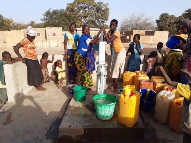 Desplazados por la violencia en el este de Burkina Faso