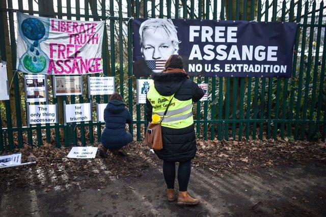 Wikileaks.- Estados Unidos amplía las acusaciones contra Assange por una supuest