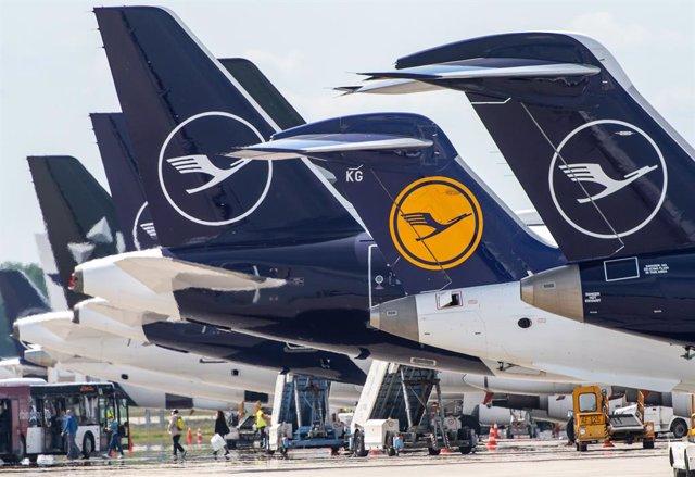 Lufthansa.