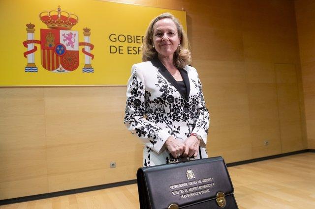 Nadia Calviño, vicepresidenta tercera del Gobierno y ministra de Asuntos Económicos y Transformación Digital