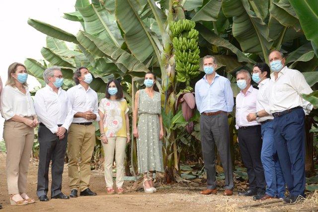 Visita de los Reyes este mmartes a Canarias tras la finalización del estado de alarma para conocer de primera mano la situación del archipiélago tras la pandemia de la Covid-19.