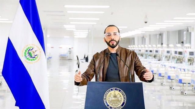 Coronavirus.- El Gobierno salvadoreño pide a la Asamblea un régimen de excepción