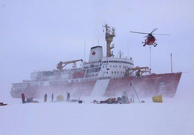 Nuevos sensores revelan cambios en el agua del Ártico canadiense