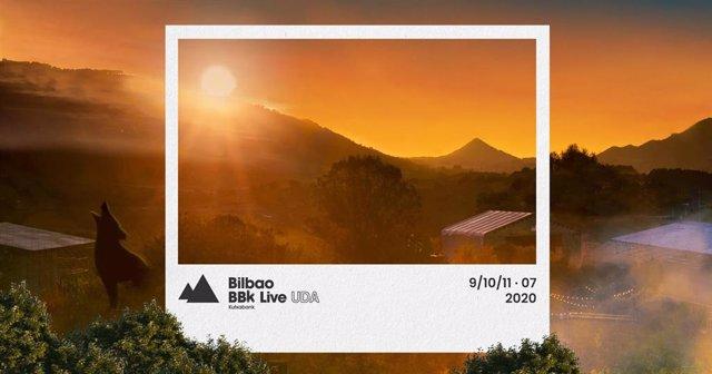 Cartel de la edición online del Bilbao BBK Live 2020