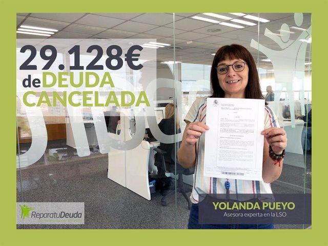 Yolanda Pueyo, asesora legal en Repara tu deuda abogados
