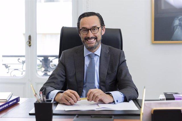 Enrique Sanz, presidente Mutualidad Abogacía