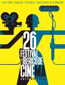 Cartel del Festival Ibérico de Cine de Badajoz