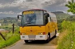 El servicio de bibliobús de la Diputación de Barcelona