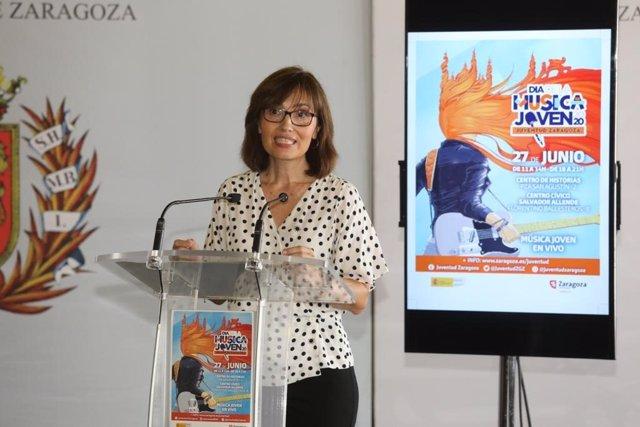 La concejal de Igualdad y Juventud, María Antoñanzas