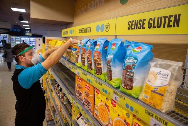 Productos sin gluten en Caprabo