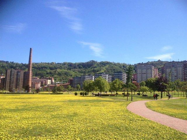 Imagen del Parque de Etxebarria, en Bilbao.