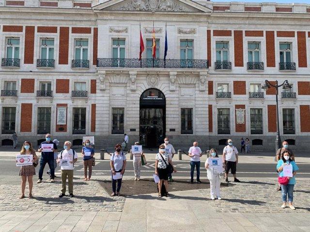 """Asociaciones por la sanidad pública presentan sus propuestas para """"dignificar"""" el sistema sanitario madrileño"""