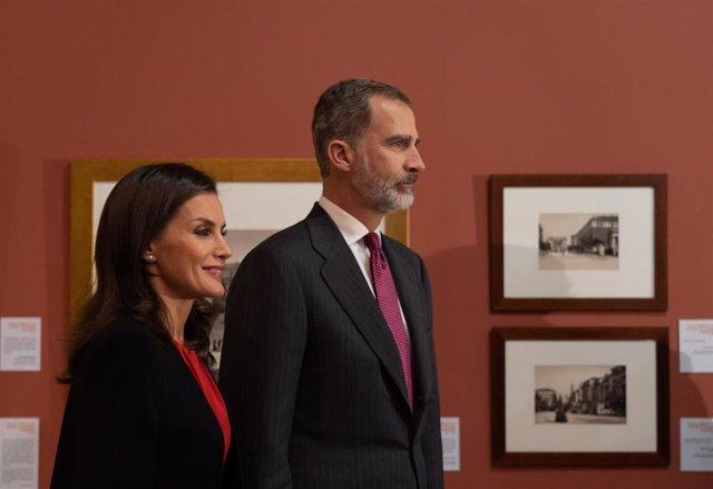 El Rey Felipe VI y la Reina Letizia en una visita reciente a Sevilla