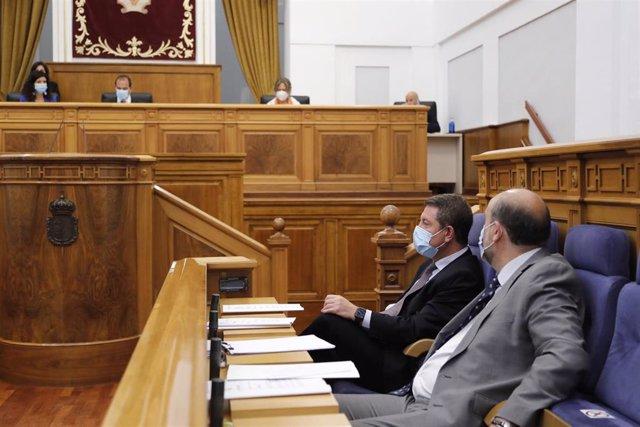 Debate y votación de la toma en consideración de la Proposición de Ley de Medidas Urgentes para la Declaración de Proyectos Prioritarios en Castilla-La Mancha.