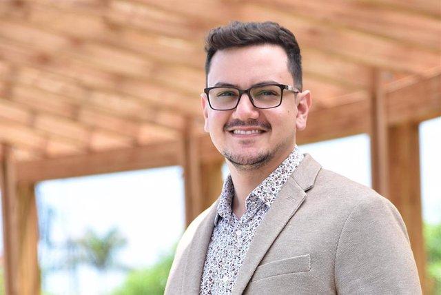 El consejero de Participación Ciudadana y Diversidad del Cabildo de Tenerife, Nauzet Gugliotta