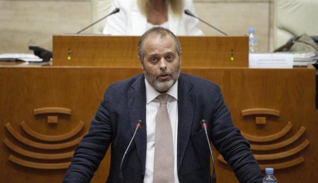 El consejero de Economía, Ciencia y Agenda Digital, Rafael España