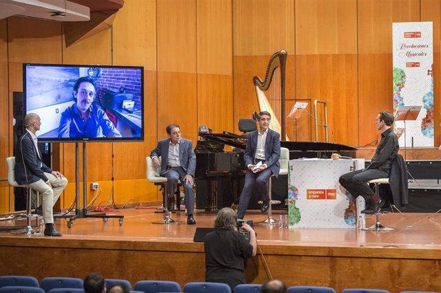 Presentación de la temporada 20/21 de la Orquesta Sinfónica y Coro RTVE