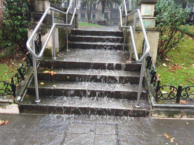 Foto de archivo. Precipitaciones intensas.
