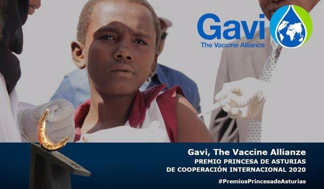 Gavi, the vaccine alliance, Premio Princesa de Asturias de Cooperación Internacional.