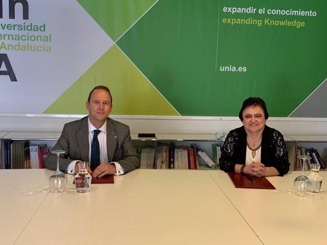 El Consejo Consultivo firma un convenio de colaboración con la UNIA para promover la formación académica.