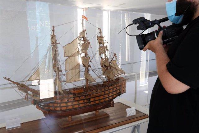 La exposición 'El Viaje a la Especiería de Magallanes y Elcano' en Diputación de Málaga