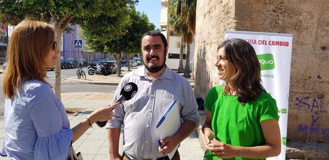 Enrique Ruiz, coordinador de 'Amigos del Parque'