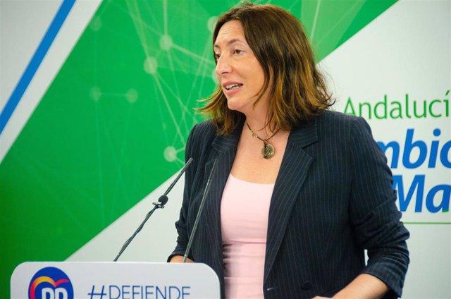 La secretaria general del PP-A, Loles López, en una foto de archivo.