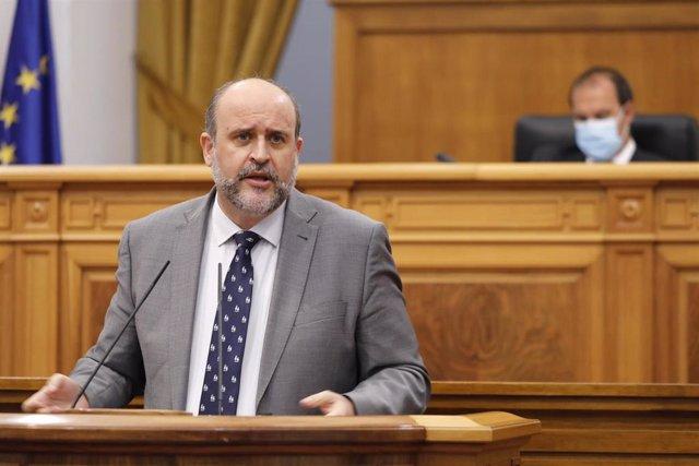 Vicepresidente regional, José Luis Martínez Guijarro,