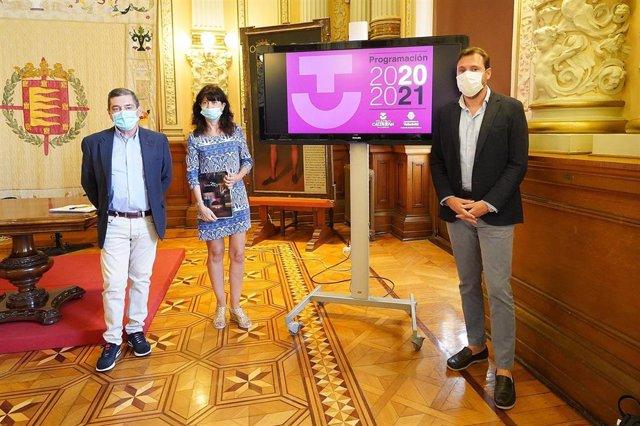Presentación de la programación del Teatro Calderón de Valladolid para la temporada 2020/2021.