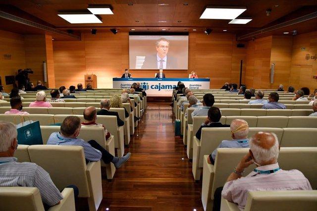 Asamblea General de Cajamar 2020.