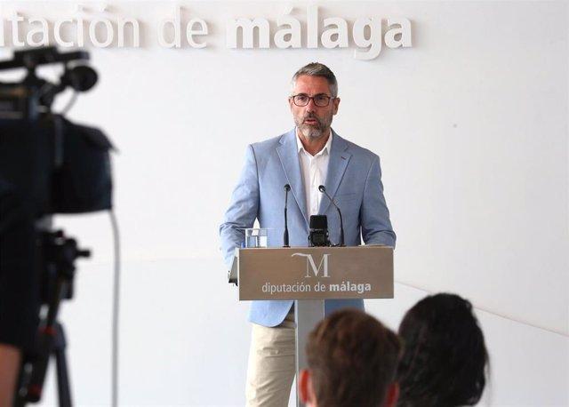 Juan Carlos Maldonado, vicepresidente primero de la Diputación de Málaga