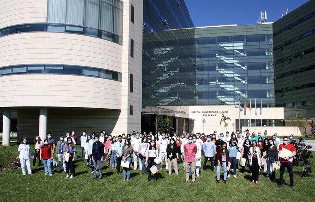 Despedida de residentes en el Hospital Clínico San Cecilio