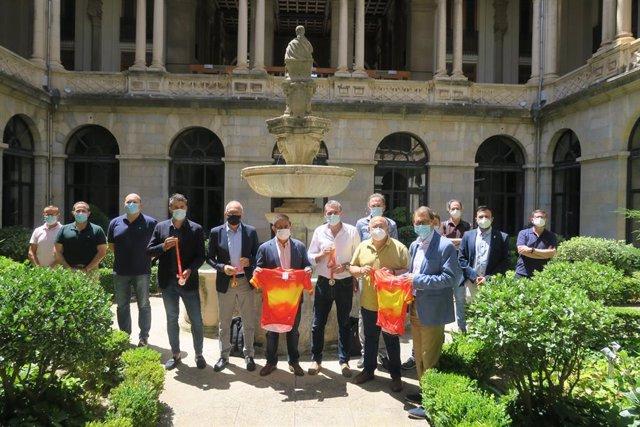 Presentación del Campeonato de España de Ciclismo
