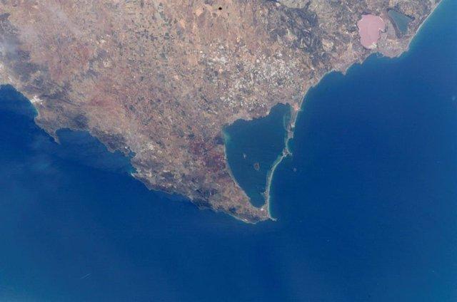Vista aérea del Mar Menor, en Murcia.