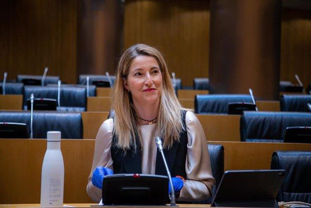 La portavoz de Ciudadanos en la Comisión de Economía del Congreso de los Diputados, María Muñoz.