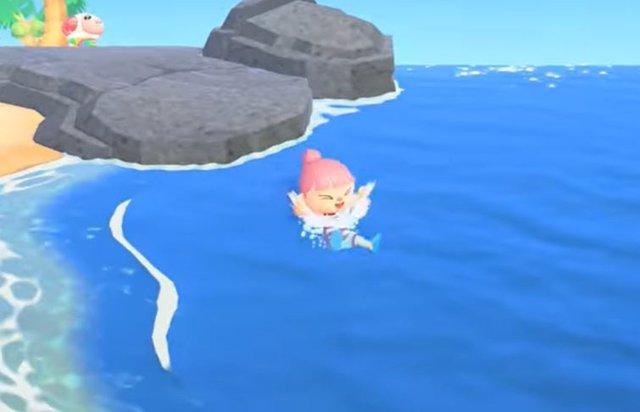 La nueva actualización de Animal Crossing: New Horizons permitirá nadar y bucear