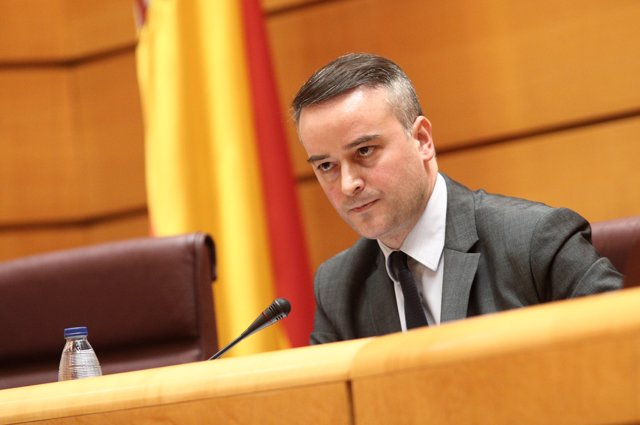El director del Gabinete de la Presidencia del Gobierno, Iván Redondo, interviene en la comparecencia en el Senado en Comisión Mixta de Seguridad Nacional, en Madrid (España), a 25 de junio de 2020.