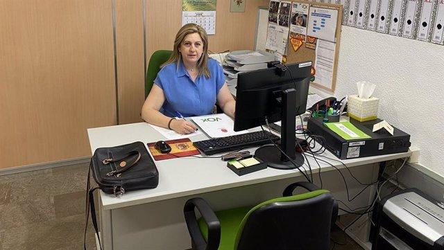 La concejal de Vox en Granada Beatriz Sánchez Agostino