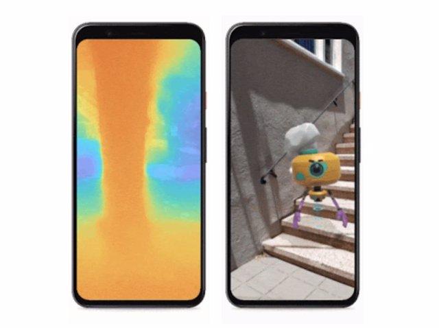 La nueva API de profundidad de Google ARCore mejora la realidad aumentada sin ne
