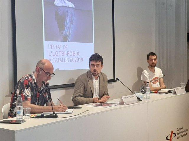 L'Observatori Contra l'Homofòbia de Catalunya (OCH) ha presentat aquest dijous 25 de juny el seu informe 'Estat de l'LGTBI-fòbia a Catalunya 2019'.