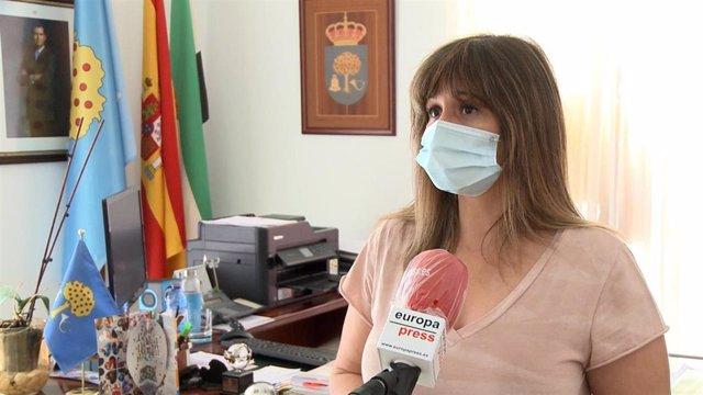 Alcaldesa de Navalmoral de la Mata (Cáceres), Raquel Medina.