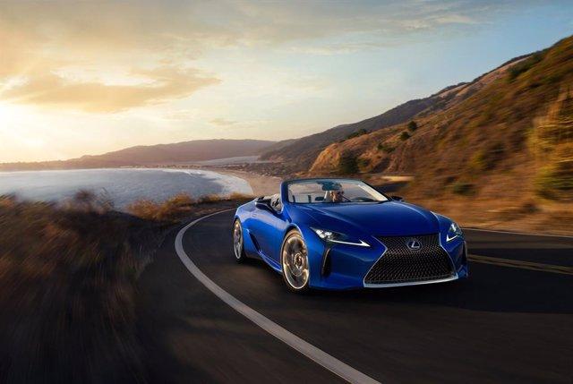 El nuevo LC 500 Cabrio de Lexus.