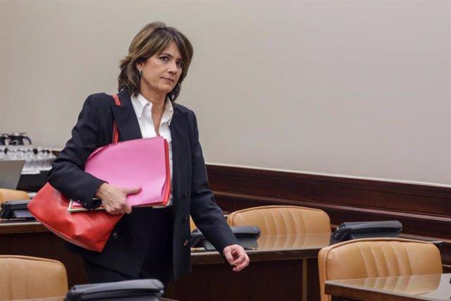 Comparecencia de Dolores Delgado en la Comisión de Justicia del Congreso de los Diputados