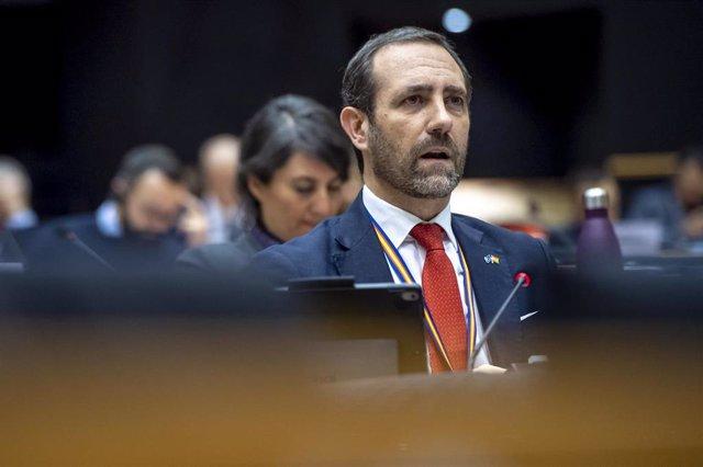 El eurodiputado de Cs José Ramón Bauzá