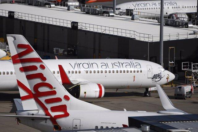 Aviones de Virgin Australia.