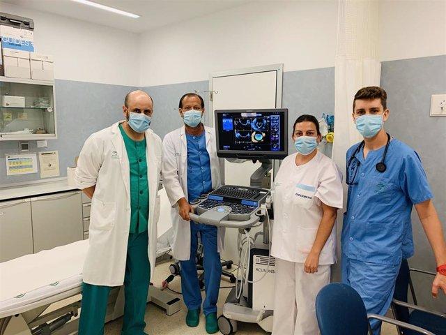 El área del Corazón del Hospital Virgen de la Victoria mejora la calidad y la precisión diagnóstica en pacientes de alta complejidad