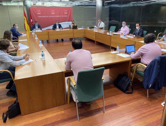 Pie De Foto, Audio (De Enrique López) Y Fotos: La Comunidad De Madrid Aprueba 17 Planes Municipales Contra Incendios